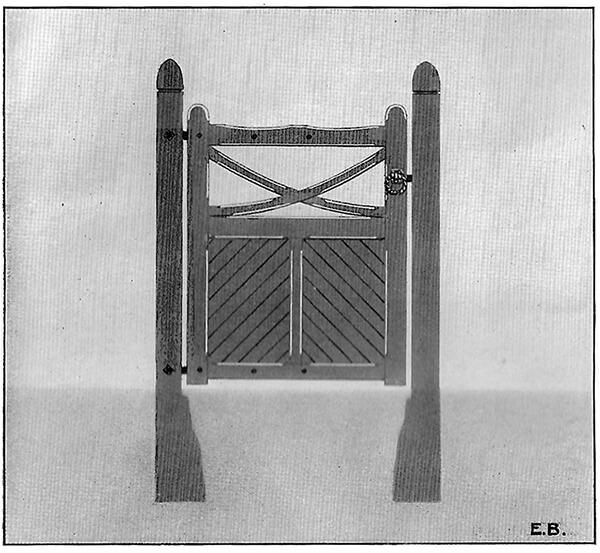 Wrought Ornamental Hand Gates Pattern 36