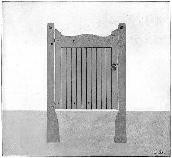 Wrought Ornamental Hand Gate Pattern Q
