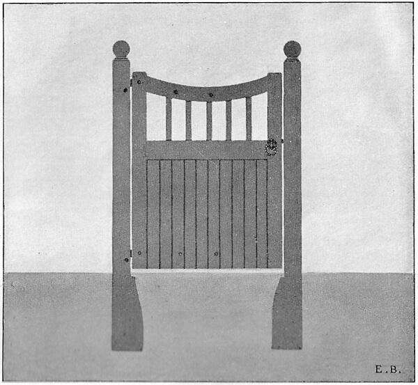 Wrought Ornamental Hand Gate Pattern R