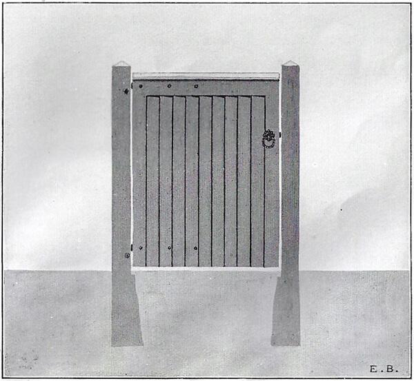 Wrought Ornamental Hand Gate Pattern S