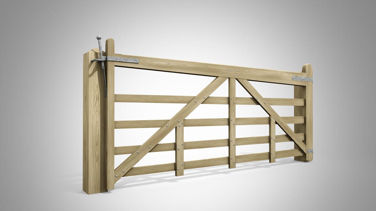 Pattern W Field Gate Angle