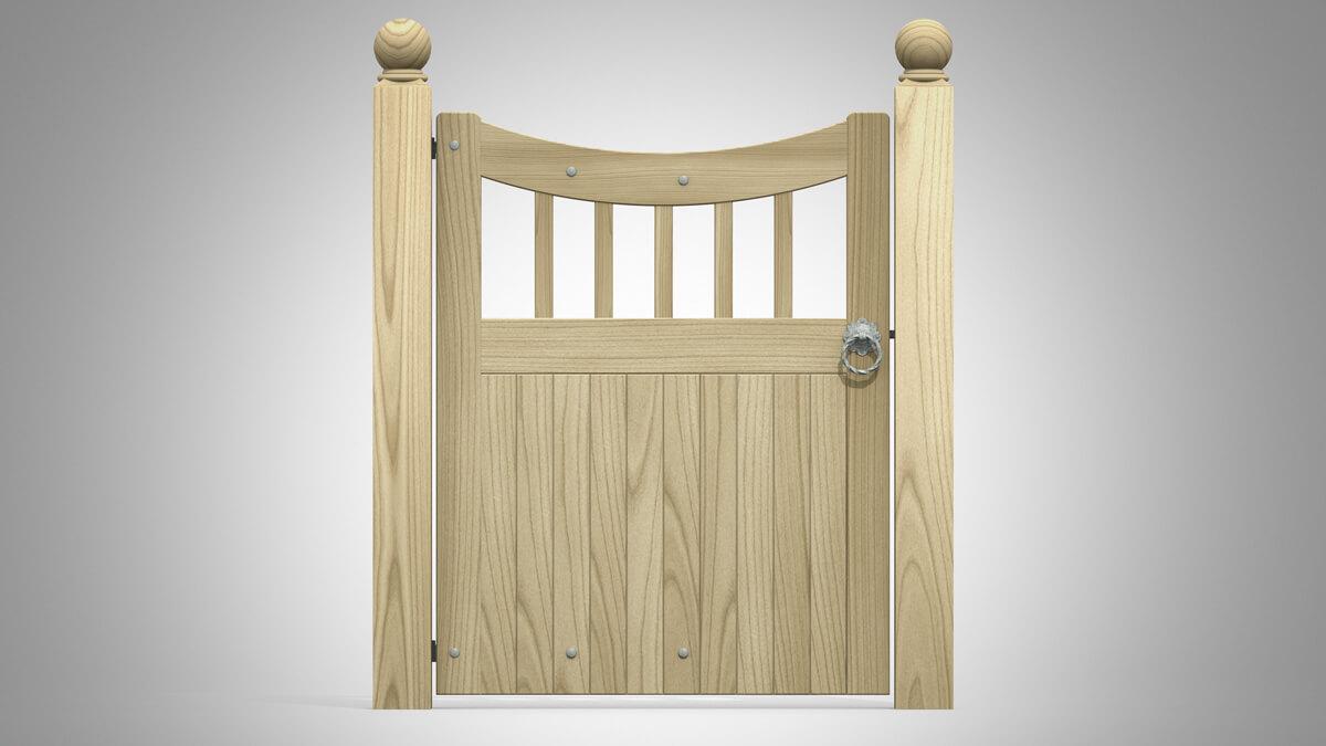 Pattern R Hand Gate
